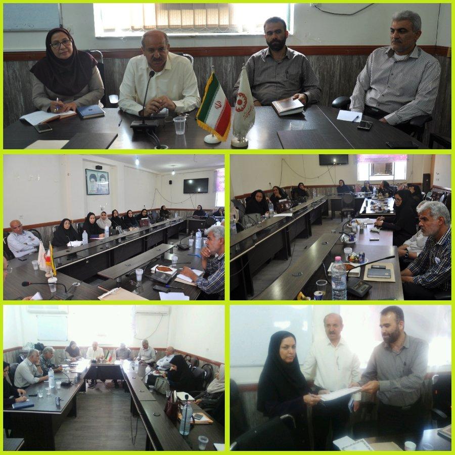 بوشهر|دشتستان |شورای اداری بهزیستی دشتستان برگزار شد