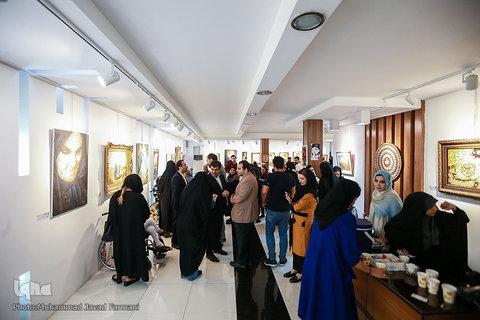 افتتاحیه نمایشگاه «هنر همای»؛ آثار نقاشی ۳۴ هنرمند برجسته توانیاب کشور