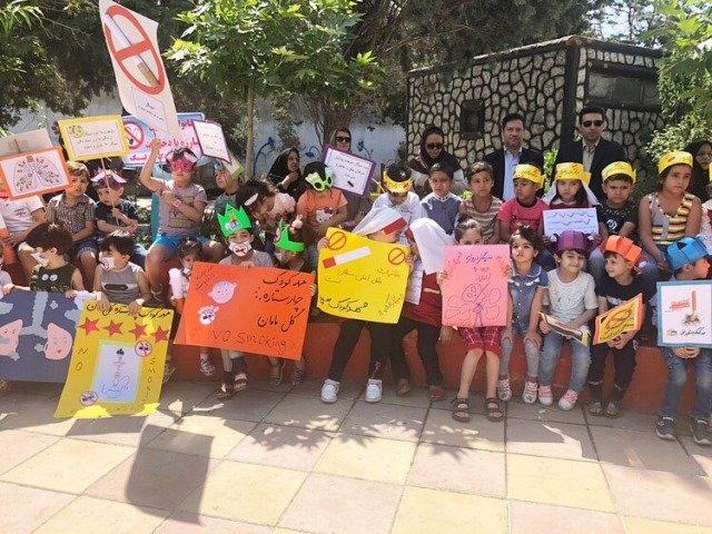 تهران| ملارد| راهپیمایی فرزندان مهدهای کودک به مناسبت هفته مبارزه با مواد مخدر