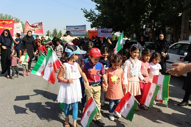 استان کهگیلویه و بویراحمد   راهپیمایی کودکان مهد کودک استان به مناسبت هفته مبارزه با مواد مخدر