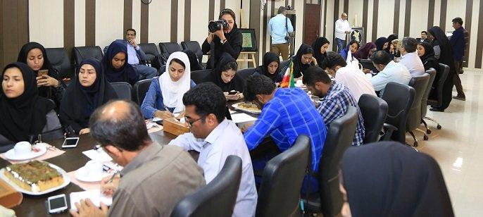 نشست خبری مدیر کل بهزیستی استان هرمزگان