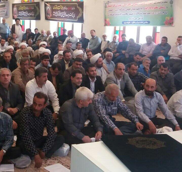 گیلان | حضور مدیرکل بهزیستی گیلان در مراسم گرامیداشت شهید مبارز حجت الاسلام محمدحسین افتخاری
