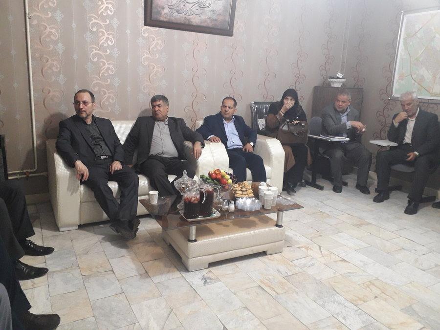 تهران  اسلامشهر  بازدید مقامات کشوری و استانی از طرح مراقبت های اجتماعی جامع در شهرستان اسلامشهر