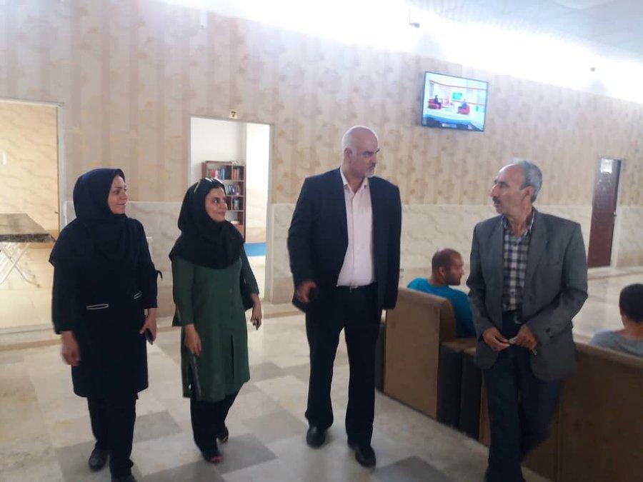 تهران| ملارد| بازدید تیم کارشناسان اعصاب  و روان بهزیستی کشور از مراکز توانبخشی شهرستان ملارد