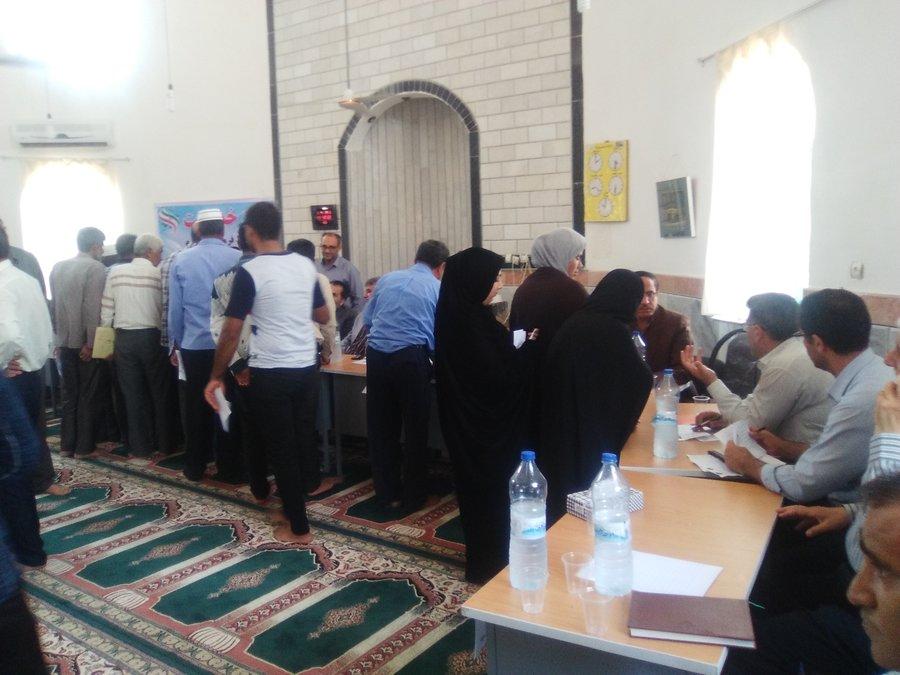 گلستان |گالیکش| برگزاری میز خدمت در روستای سرچشمه شهرستان گالیکش