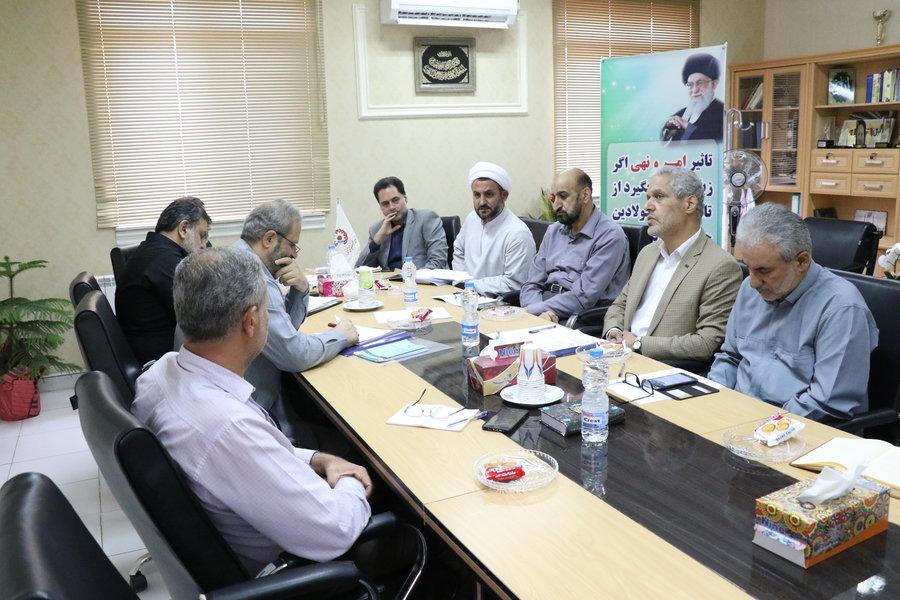 گیلان   نشست صمیمی دکتر حسین نحوی نژاد با ستاد امر به معروف استان گیلان