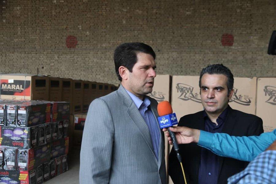 توزیع یکصد بسته لوازم خانگی به مددجویان آسیب دیده در سیل استان گلستان