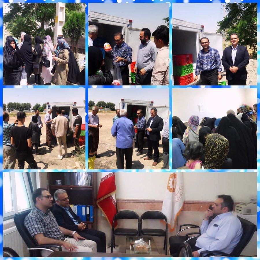 البرز | نظرآباد |  جذب مشارکت های مردمی  و ارائه خدمات به مددجویان