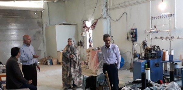 همدان  رزن بازدید رئیس بهزیستی به همراه کارشناس اشتغال از طرحهای اشتغالزایی در سطح شهرستان