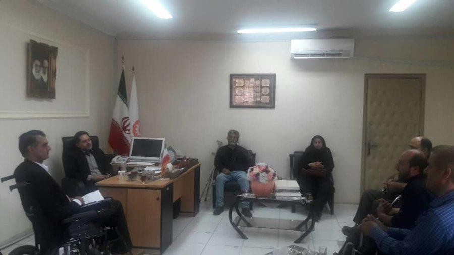 گیلان | نشست صمیمی مدیر کل بهزیستی گیلان با انجمن ضایعه نخاعی امام علی (ع )