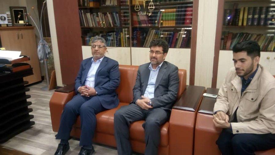 البرز | کرج | رئیس بهزیستی کرج به دیدار دادستان رفت