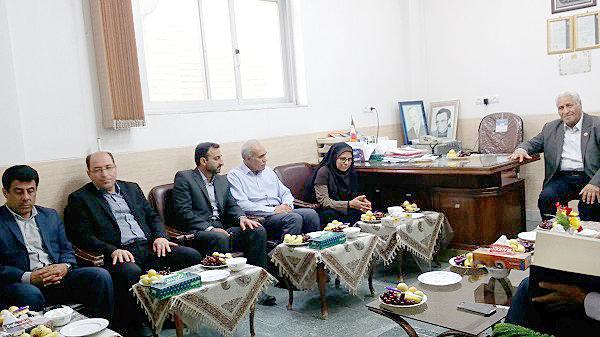 اصفهان  نجف آباد  بازدید مدیر کل بهزیستی استان از مرکز توانبخشی فیض