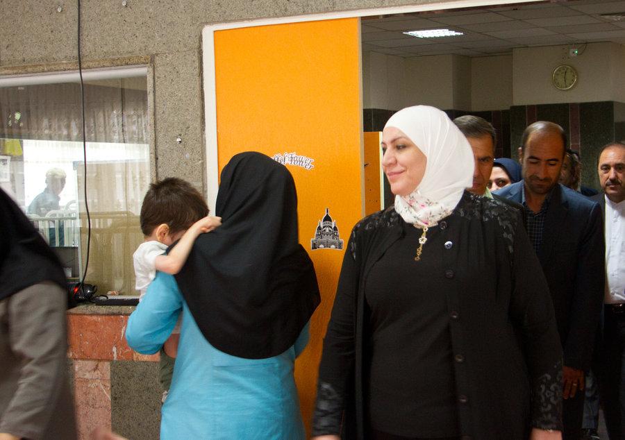 تهران| وزیر امور اجتماعی و کار کشور سوریه از مرکز نارمک بازدید کرد