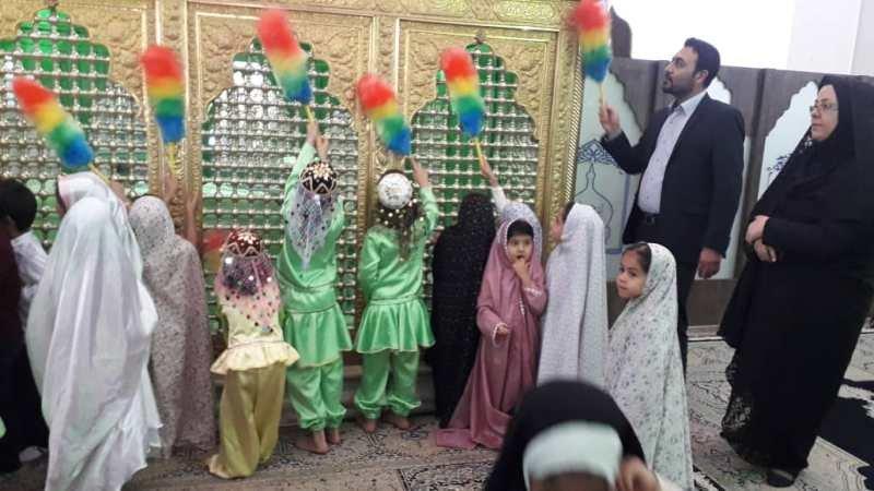 کرمان اجرای طرح خادمین کوچک در شهرستان زرند