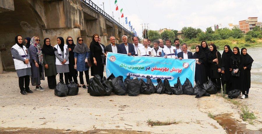 مازندران   کمپین رسانه ای به زیستن در مازندران پاک برگزار شد