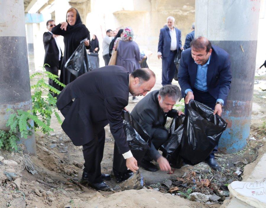 کمپین به زیستن در مازندران پاک