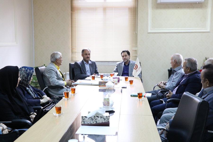 گیلان | نشست دکتر حسین نحوی نژاد با نماینده محترم مردم آستانه اشرفیه در مجلس شورای اسلامی
