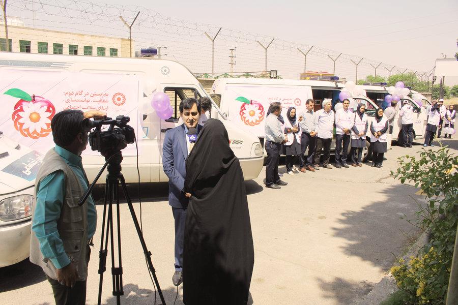 البرز | مانور بزرگ اورژانس اجتماعی در سطح کلانشهر کرج برگزار شد
