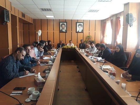 اصفهان| تیران و کرون| برگزاری کمیته مناسب سازی شهرستان تیران کرون
