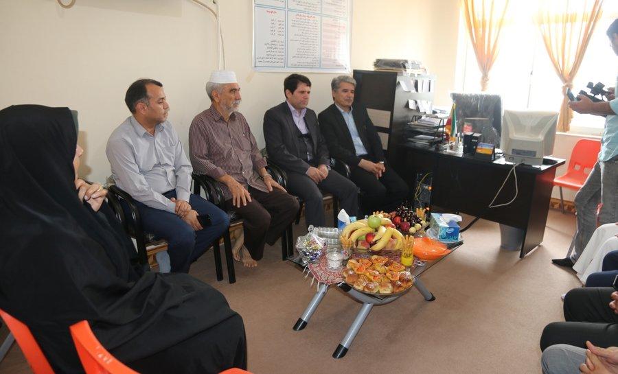 گلستان  دیدار مدیرکل بهزیستی و فرماندار بندرترکمن با کودکان تحت سرپرستی