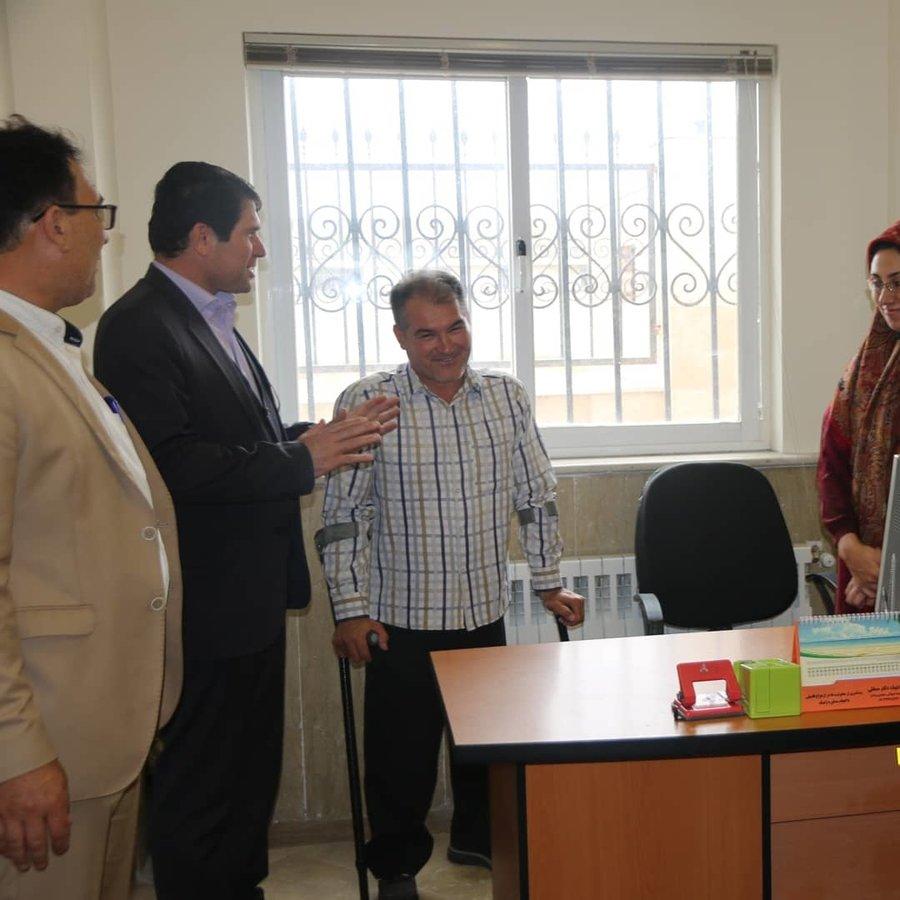 گلستان| دیدار مدیرکل بهزیستی با کارکنان ادارات بهزیستی در غرب استان