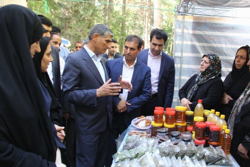 فرماندار ایلام نمایشگاه صنایع دستی مددجویان بهزیستی را افتتاح کرد
