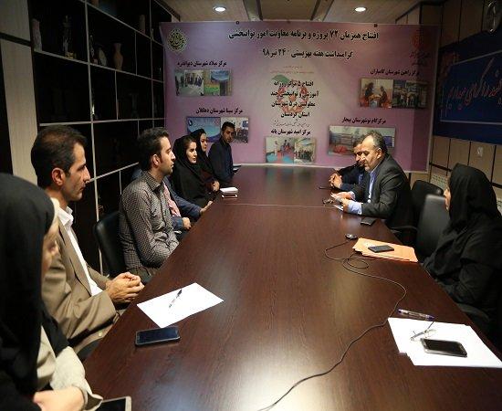 کردستان   افتتاح 5 طرح توانبخشی کردستان همزمان با 64 پروژه توانبخشی در کشور