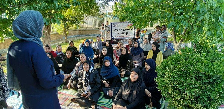 همدان ملایر جشن هفته بهزیستی ویژه کارکنان زن اداره بهزیستی در پارک بانوان