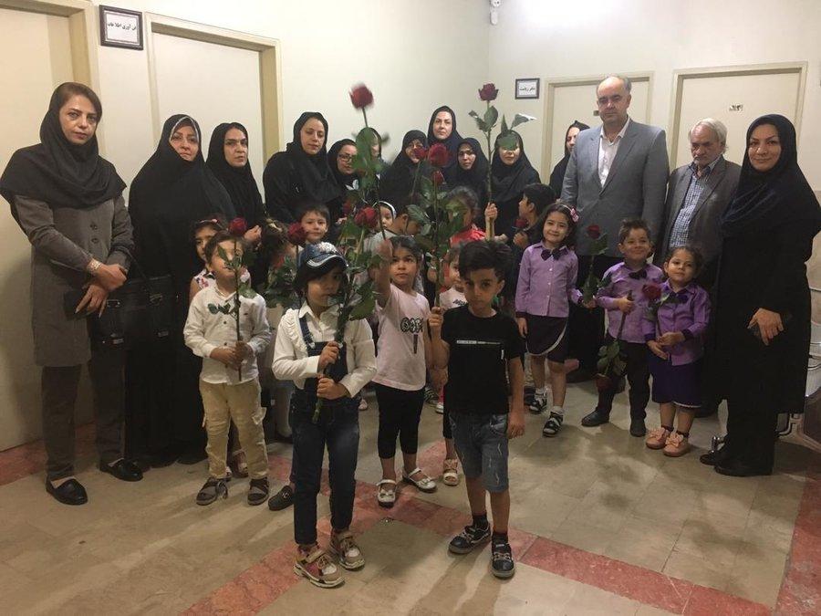 تهران| پاکدشت |دیدار مدیران مهدهای کودک شهرستان پاکدشت با مسئولین