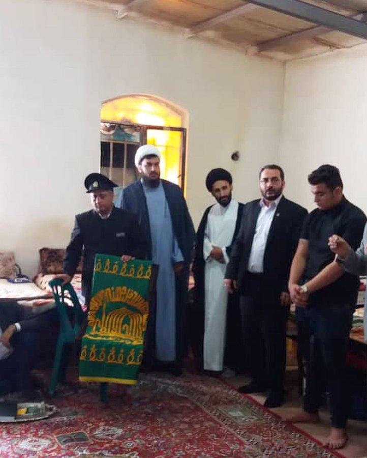 تهران| ملارد |بازدید خادمین بارگاه ملکوتی حضرت ثامن الحجج (ع) از مر اکز بهزیستی ملارد