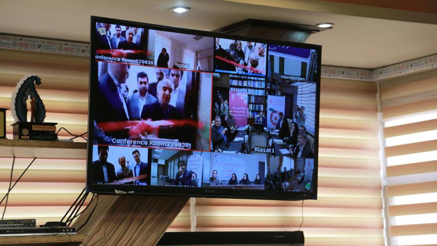 افتتاح  همزمان  64 طرح  حوزه  توانبخشی  در  24 استان  بصورت  ویدئو کنفرانس