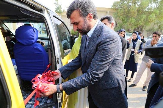 هرمزگان | افتتاح اولین موبایل ون در شهر بندرعباس