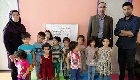 همدان   اسد آباد  جشن هفته بهزیستی در مهد کودک باغ قاصدک