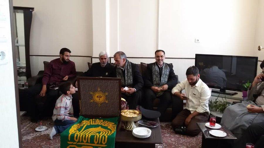 چهارمحال وبختیاری | بازدید خدام امام رضا (ع) از مرکز شبانه روزی نیکان شهرکرد