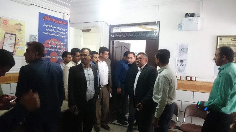 کرمان|حضور مسئولین شهرستان فاریاب در اداره بهزیستی این شهرستان در هفته بهزیستی