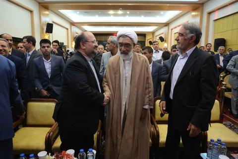 اختتامیه همایش تجلیل از خیرین برگزیده بهزیستی کشور در مشهد مقدس