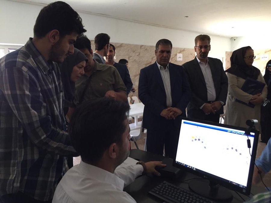 تهران| دستگاه اسکن عنبیه معتادان متجاهر رونمایی شد