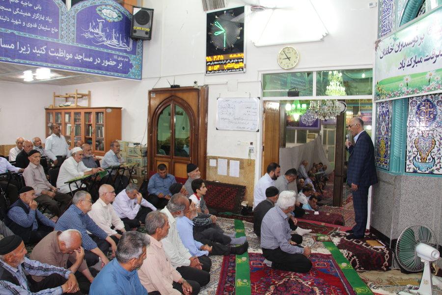 استان سمنان ا  سرخه ا دیدار مردمی مدیر کل بهزیستی استان سمنان در سرخه
