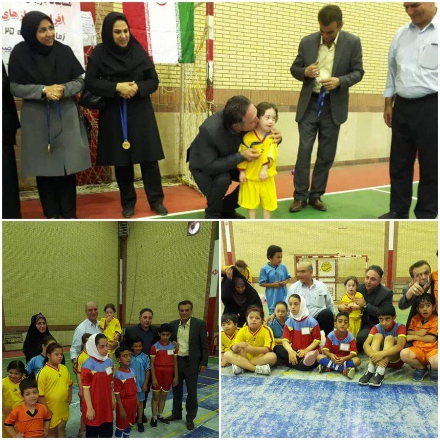 گلستان| جشنواره فرهنگی ورزشی ویژه کودکان دارای معلولیت برگزارشد.