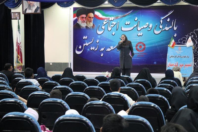 کرمان| برگزاری جشن هفته بهزیستی با حضور کودکان کار وخیابان مقیم مراکز وخیریه های تحت نظارت بهزیستی