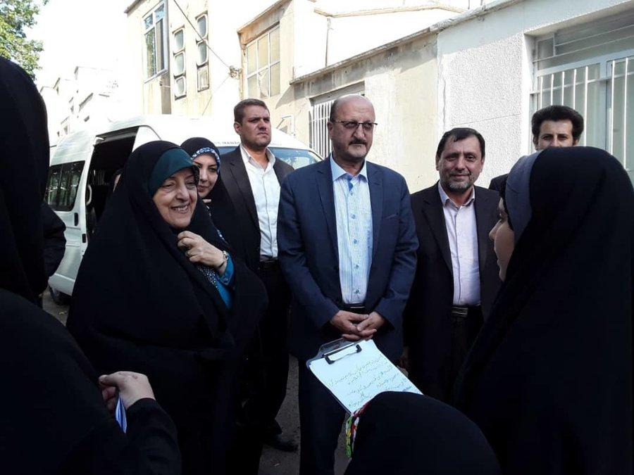 بازدید معاون ریاست جمهوری در امور زنانو خانواده از مرکز خانه امن زنان خشونتدیده در استان قزوین