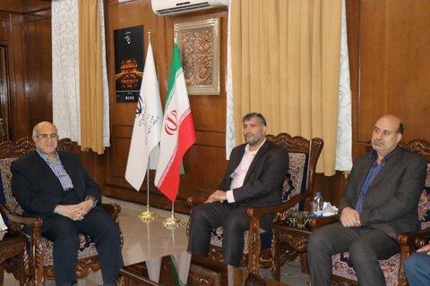دیدار معاون مدیریت توسعه و منابع انسانی سازمان بهزیستی کشور با استاندار کرمان