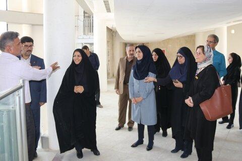 گزارش تصویری  بازدید معاون توانبخشی سازمان بهزیستی کشور از سرای بزرگان طوبی اصفهان