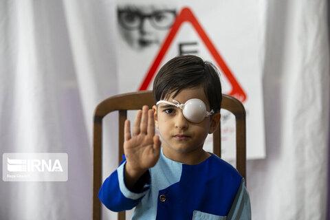طرح پیشگیری از تنبلی چشم برای پنج هزار کودک در خمین هدفگذاری شد