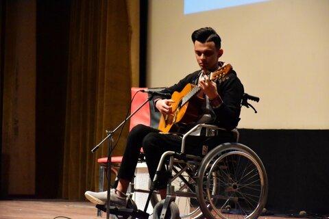 تیزر برگزاری جشنواره موسیقی مجازی معلولین