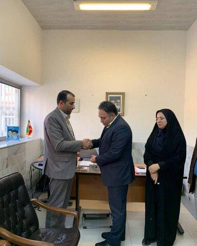 انتصاب رئیس جدید اداره پذیرش و هماهنگی بهزیستی استان