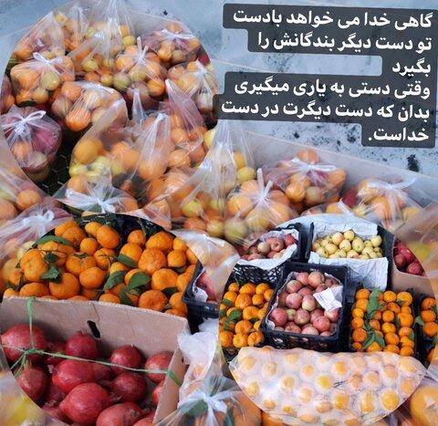 بیش از 5 هزار کیلو میوه در آستانه ی شب یلدا بین خانواده های نیازمند تحت حمایت استان خراسان جنوبی توزیع شد