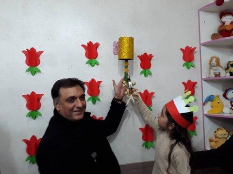 گزارش تصویری| نواخته شدن زنگ انقلاب در مهدهای سراسر استان