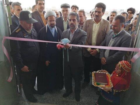 گزارش تصویری| افتتاح مجتمع حمایتی بهزیستی بخش سده شهرستان قاینات