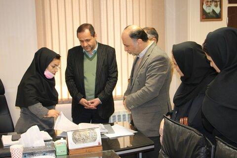 بازدید مدیرکل بهزیستی استان تهران از مرکز 1480